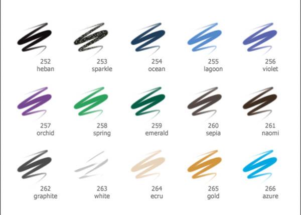 مداد چشم ویپرا مدل ایکیبانا Vipera Ikebana Eye Pencil