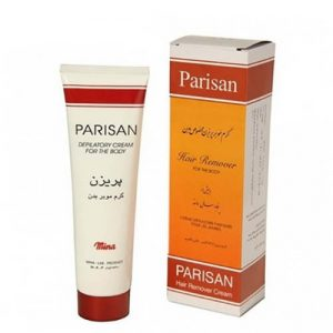 کرم موبر بدن پریزن مناسب انواع پوست (پاریسان) Parisan Hair Remover Cream For Body 100gr