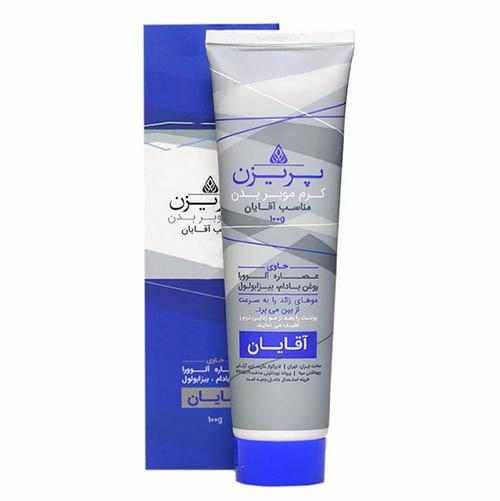 کرم موبر بدن مناسب آقایان پریزن 100 گرم (پاریسان) Parisan Hair Remover Cream For Men 100gr