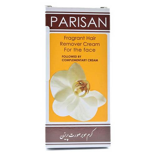 کرم موبر صورت پریزن 25 گرم و کرم کامل کننده 15 گرم Parisan Hair Remover Cream For the Face 25gr