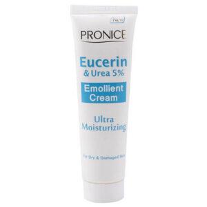 کرم نرم کننده پوست کودک پرونایس مدل 5 درصد اوسرین و اوره Pronice Eucrin & Urea 5% Ultra Moisturizing Baby Cream 100ml