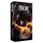 کاندوم سیکس مدل سوپر لارجو Six Super Largo Candom Pack Of 12