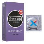 کاندوم گودلایف تیک تاک مدل SUPER DELAY بسته 12 عددی