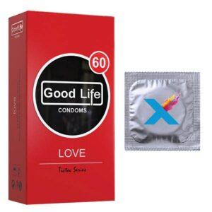 کاندوم گودلایف تیک تاک مدل love بسته 12 عددی