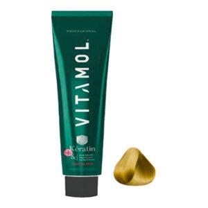 رنگ مو بدون آمونیاک بلوند دودی روشن ویتامول شماره S10.1