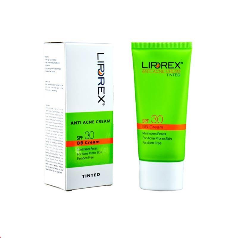 کرم ضد جوش رنگی ( بژ طبیعی ) SPF30 لیپورکس