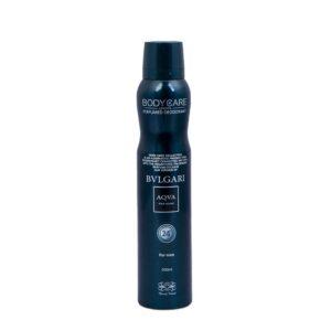 اسپری دئودورانت مردانه بادی کر bvlgari aqua.