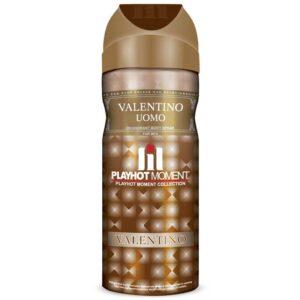 دئودورانت مردانه پلی هات مومنت مدل valentino uomo